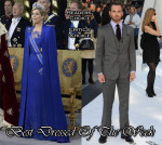 Best Dressed Of The Week - Queen Máxima of the Netherlands In Jan Taminiau  & Chris Pine In Ralph Lauren Purple Label