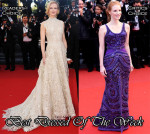 Best Dressed Of The Week - Nicole Kidman In Valentino Couture and Jesscia Chastain In Givenchy Couture