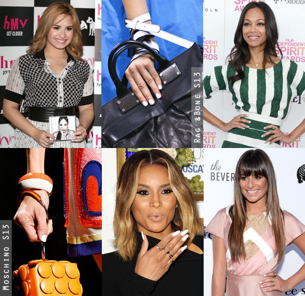Beauty Trend Spotting White Hot Mani 2