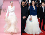 Berenice Bejo In Alexis Mabille Couture - 'Le Passe' Cannes Film Festival Premiere