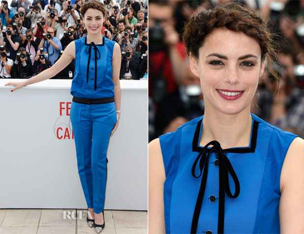 Berenice Bejo In Louis Vuitton - 'Le Passe' Cannes Film Festival Photocall