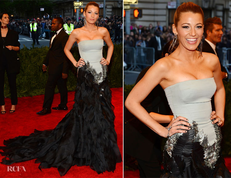 4ec753d4a Blake Lively In Gucci Première - 2013 Met Gala - Red Carpet Fashion ...