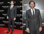 Bradley Cooper In Vivienne Westwood MAN - 'The Hangover Part III' Paris Premiere