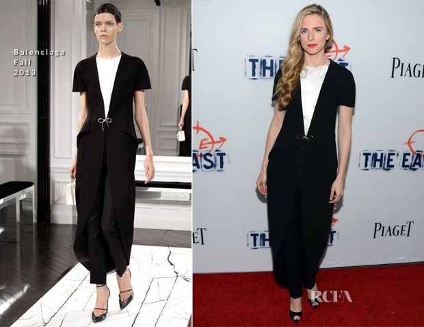 Brit Marling In Balenciaga - 'The East' LA Premiere