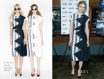 Brit Marling In L'Wren Scott - 'The East' Brooklyn Screening