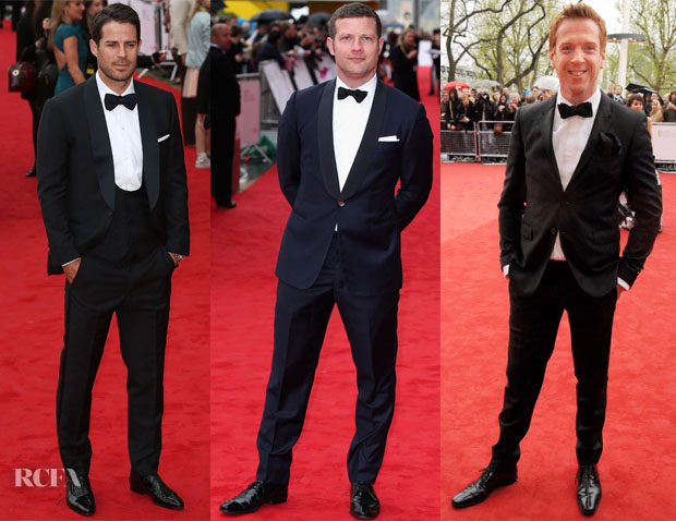 British Academy Television Awards 2013 Menswear