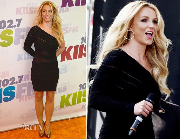 Britney Spears In Roberto Cavalli - 102 7 KIIS FM's Wango Tango 2013