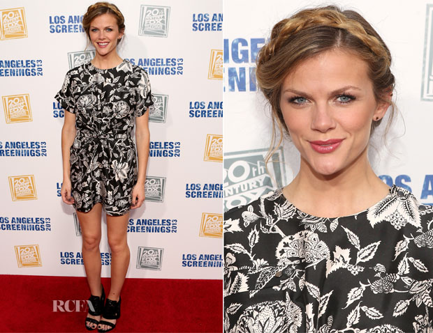 Brooklyn Decker In Isabel Marant - 2013 LA Screenings Lot Party