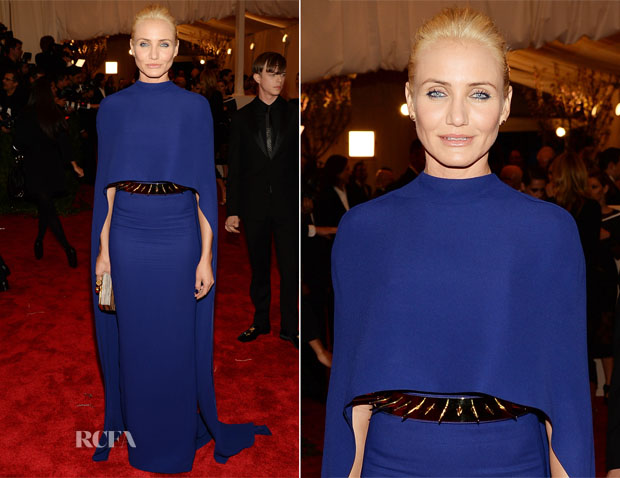 Cameron Diaz In Stella McCartney - 2013 Met Gala