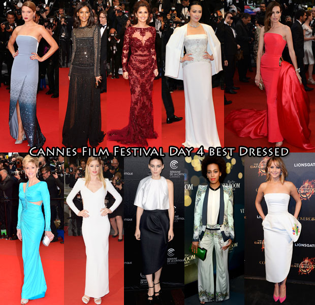 Cannes Best Dressed Day 4