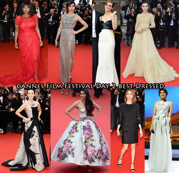 Cannes Film Festival Day 2 best Dressed