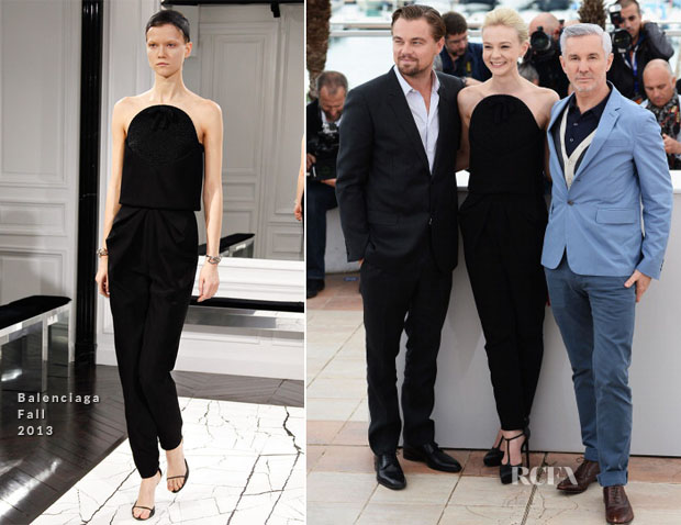 Carey Mulligan In Balenciaga - 'The Great Gatsby' Cannes Film Festival Photocall