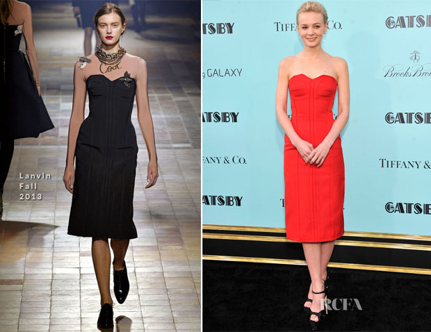 Carey Mulligan In Lanvin - 'The Great Gatsby' New York Premiere