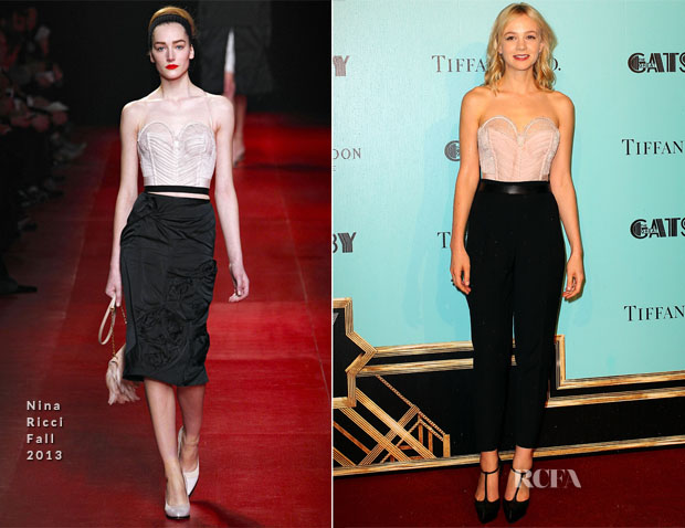 Carey Mulligan In Nina Ricci - 'The Great Gatsby' Sydney Premiere