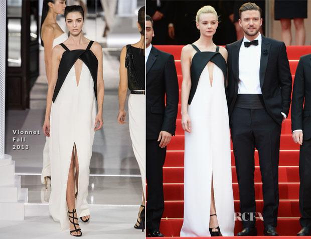 Carey Mulligan In Vionnet - 'Inside Llewyn Davis' Cannes Film Festival Premiere