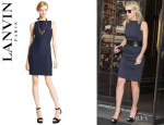 Carey Mulligan's Lanvin Sleeveless Dress