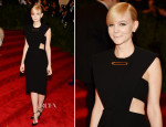 Carey Mulligan In Balenciaga - 2013 Met Gala