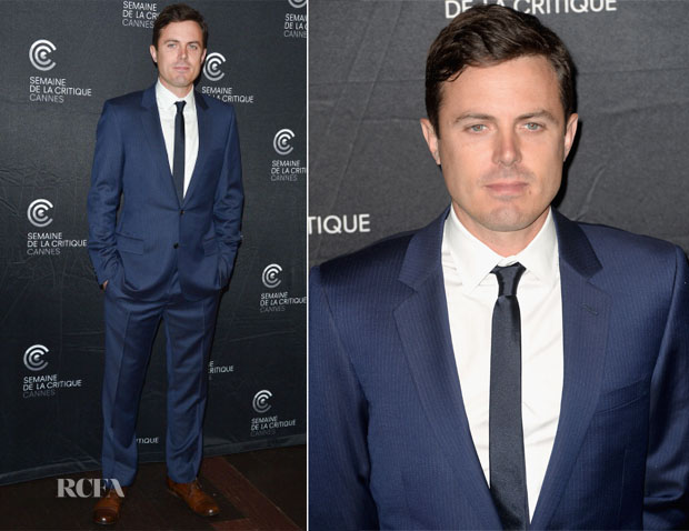 Casey Affleck In Dior Homme - 'Ain't Them Bodies Saints' Cannes Film Festival Photocall