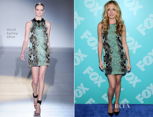 Cat Deeley In Gucci - FOX 2103 Programming Presentation Post-Party