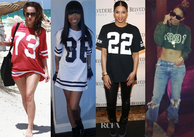 Celebrities Love Number Tees