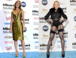 Celine Dion In Atelier Versace & Madonna In Givenchy Couture - 2013 Billboard Awards