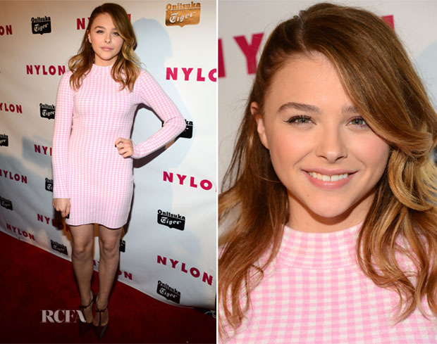 Chloe Moretz in Chloe Sevigny for Opening Ceremony at 'Nylon' Magazine's Young Hollywood Issue Event