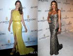 Alessandra Ambrosio In Elie Saab & Stacy Keibler In Naeem Khan - De Grisogono Party