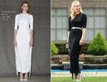 Diane Kruger In Alessandra Rich -  Jaeger-LeCoultre 'Reinvent Yourself' Film Preview