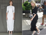 Diane Kruger In Alessandra Rich - Out In New York City