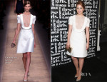 Dianna Agron In Valentino -  Glamour Presentation of 'These Girls'