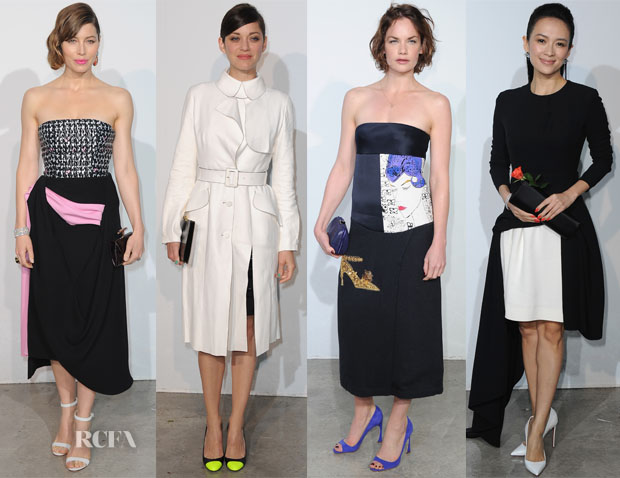 Dior Cruise 2014 Celebrity Front Row