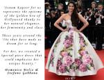 Domenico Dolce & Stefano Gabbana On Sonam Kapoor's Cannes Film Festival Gown