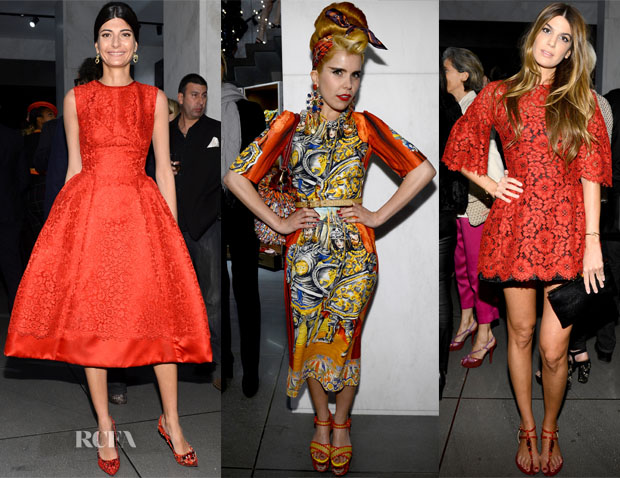 Dolce & Gabbana's 5th Avenue Boutique Opening