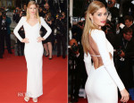 Doutzen Kroes In Calvin Klein Collection - 'Jimmy P. (Psychotherapy Of A Plains Indian)' Cannes Film Festival Premiere