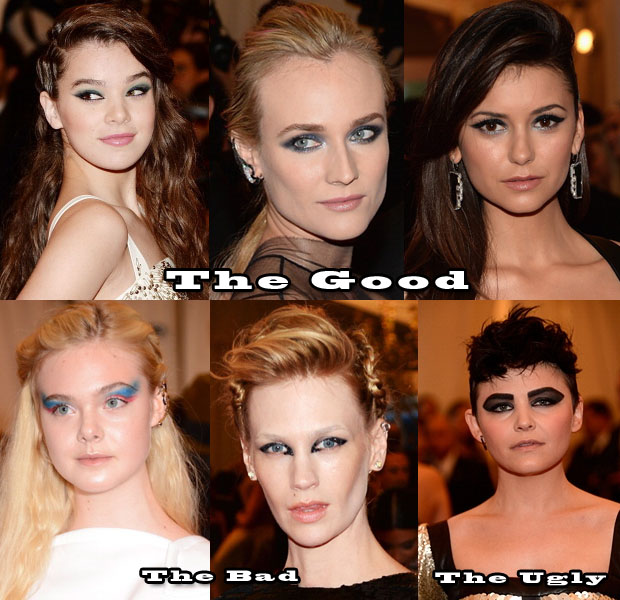 Dramatic Eyes At The Met Gala The Good, The Bad, and The Ugly