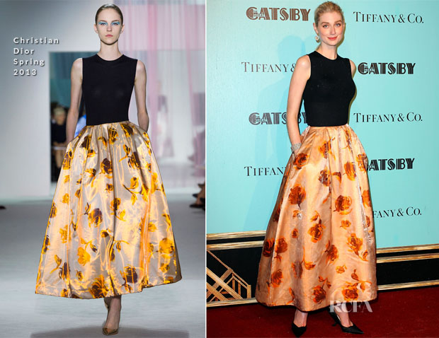 Elizabeth Debicki In Christian Dior - 'The Great Gatsby' Sydney Premiere