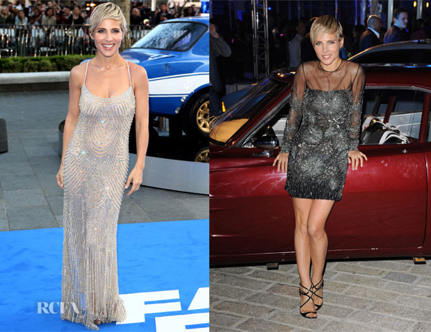 Elsa Pataky In Naeem Khan - 'Fast and Furious 6' World Premiere