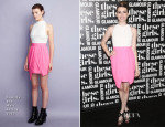 Emma Roberts In Camilla and Marc - Glamour Presentation of 'These Girls'