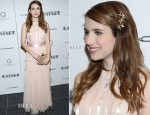 Emma Roberts In Jonathan Saunders - 'The Great Gatsby' Pre-Met Ball Special Screening