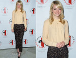 Emma Stone In Michael Kors - Gilda's Club Benefit Luncheon