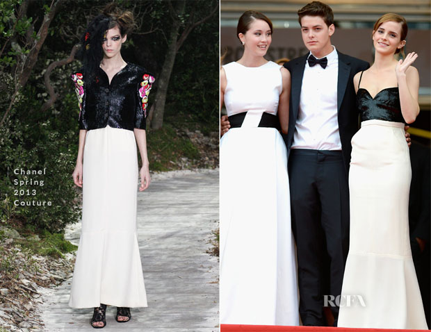 Emma Watson In Chanel Couture - 'The Bling Ring' Cannes Film Festival Premiere