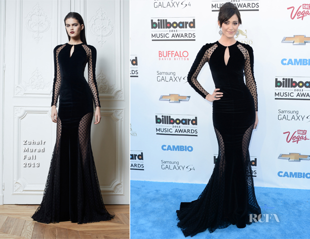 Emmy Rossum In Zuhair Murad - 2013 Billboard Music Awards