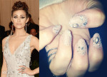 How To Get Emmy Rossum's Lace Met Gala Manicure