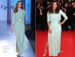 Eva Longoria In Atelier Versace - 'Jimmy P. (Psychotherapy Of A Plains Indian)' Cannes Film Festival Premiere