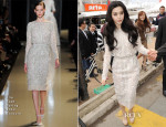 Fan BingBing In Elie Saab Couture - 'Skiptrace' Cannes Film Festival Photocall