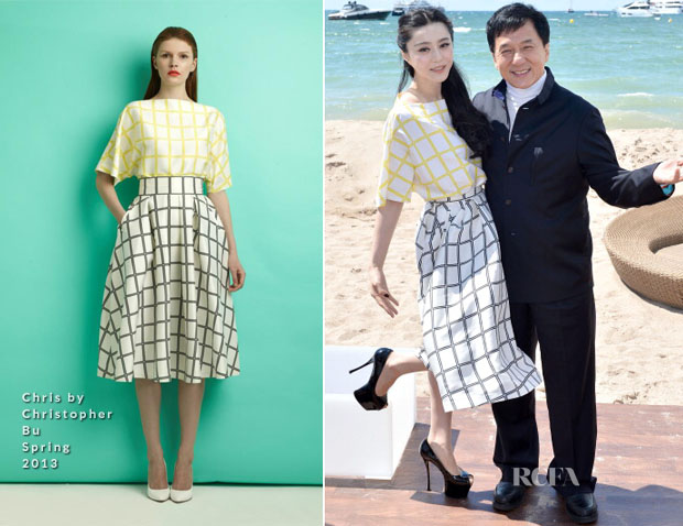 Fan Bingbing In Chris by Christopher Bu - 'Emperor' Cannes Film Festival Press Junket