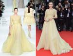 Fan Bingbing In Elie Saab Couture - 'Jeune & Jolie' Cannes Film Festival Premiere