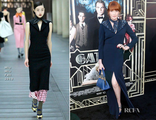 Florence Welch In Miu Miu - 'The Great Gatsby' New York Premiere