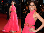 Freida Pinto In Gucci - 'The Great Gatsby' Premiere & Cannes Film Festival Opening Ceremony