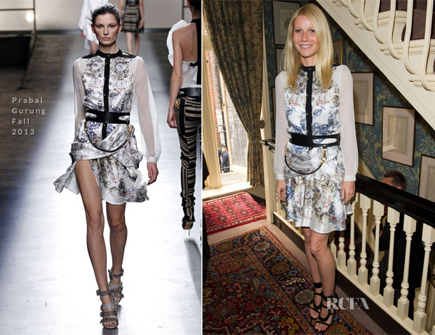 Gwyneth Paltrow In Prabal Gurung - Goop Launches The Summer Season